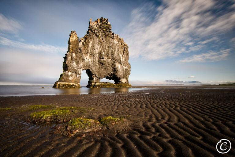 Hvítserkur Vatnsnes Island